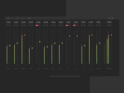 UI Concept - Mixer