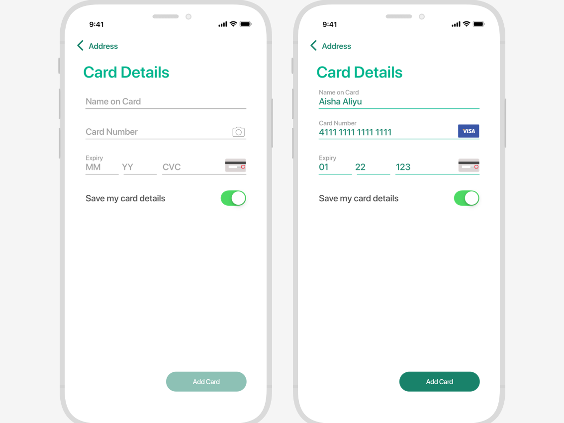 Daily UI Challenge 002 - Credit Card Checkout dailyui ui credit card form dailyui 002