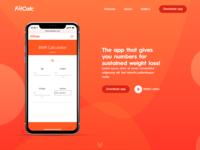 Daily UI Challenge 003 - App Landing