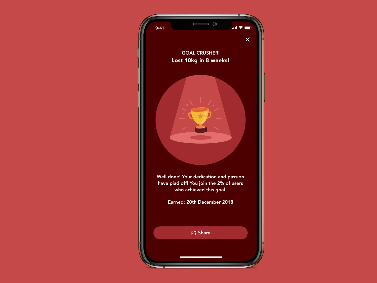 Daily UI 010 - Social Share badge app design social share dailyui 010 dailyui