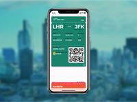 Daily UI Challenge 024 - Boarding pass