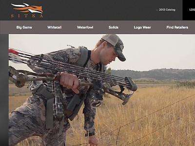 Sitka Gear website web resonsive sitka gear sitka hunting