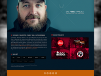 New Personal Landing Page
