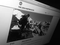 Leica Hunting Blog