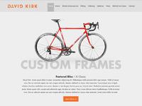 Bike Website Work In Progress