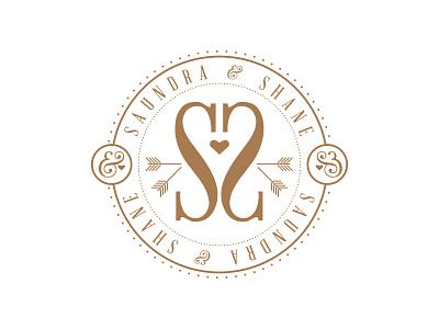Wedding Logo stamp logo wedding