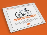 Custom Bike Website