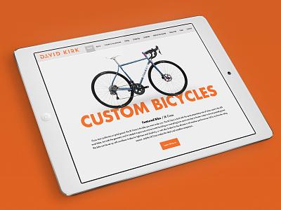Custom Bike Website responsive design website custom bikes bike