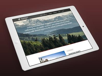Yellowstone Traditions Website montana builder responsive design website custom