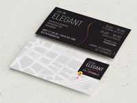 Salon Elegant Card