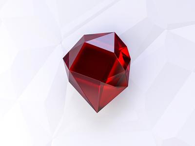 Balkan Ruby 3D logo