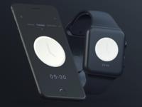 Clock app - iOS Concept