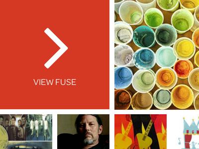 Redesign of Fusings.com Profile web design interface design ui design fusings redesign social