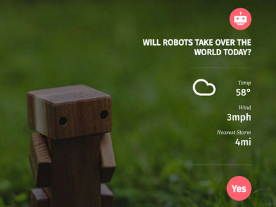 Will Robots Take Over the World Today?