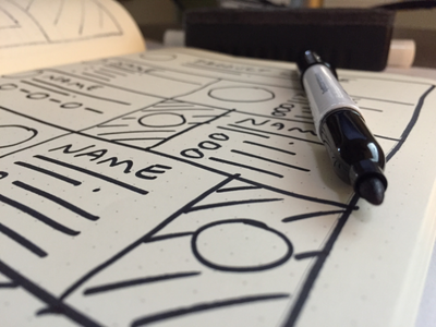 UX Sketching with Pen and Paper