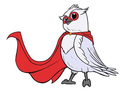 Fullstack HQ Owl Superhero vector owl character design mascot branding illustration owl illustration