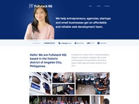 Fullstack HQ: Our New Homepage