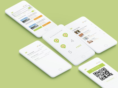 GoPage - Mobile Design