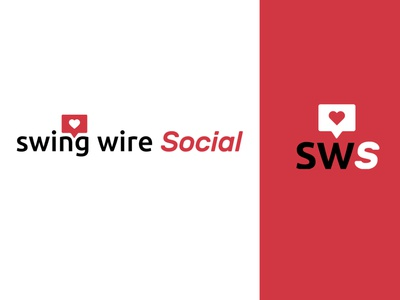Swing Wire Social - Logo Design