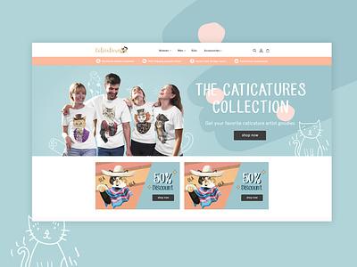 Caticatures - Web Design and Development website design websitedesign website web design and development webdevelopment webdevelopers webdeveloper web designer webdesigner web design webdesign ui ux photoshop design