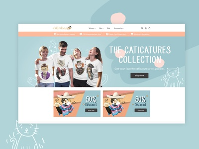 Caticatures - Web Design and Development