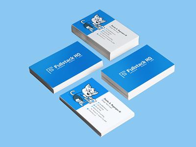 FullstackHQ - Business Card brand branding card business card mockup business card design businesscarddesign business card businesscards businesscard business