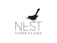 NEST HOME PLANS LOGO DESIGN