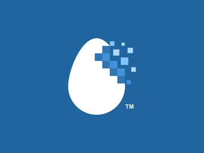 Pixelated Egg