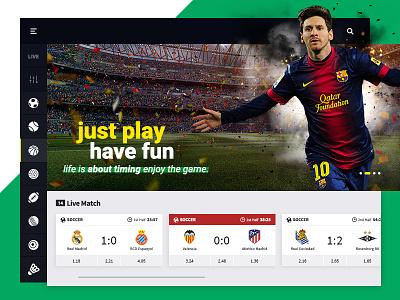 Sportsbook | Bet Design clean sports betting bet website interaction design ux ui
