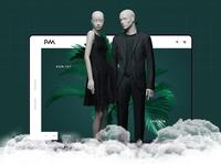 Mannequin web design | New ui