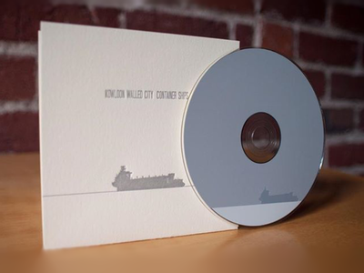 The final package package design letterpress