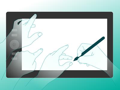 Hands illustrator