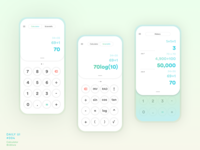 Calculator Concept | Daily UI #004