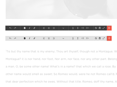 What you see icon toolbar text editor wysiwyg