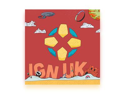 IGN UK Podcast Concept: Music Television ign video games illustration