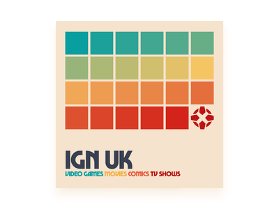 IGN UK Podcast Concept: Swiss Chard color bauhaus swiss uk ign