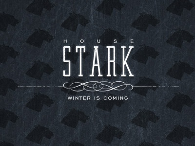 House Stark Wallpaper