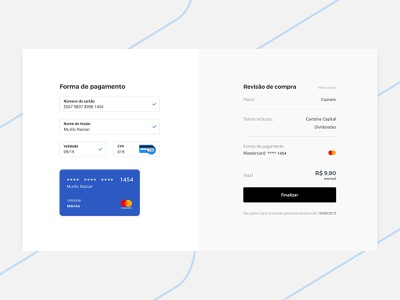 Payment Details checkout ui design payment method ordering order summary payment