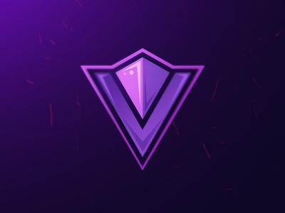 Mascot style V for YouTube