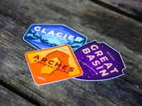 USA National Parks Badges
