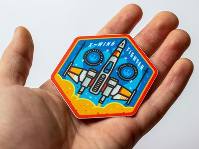 X-Wing Die Cut Stickers