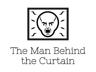 The Man Behind The Curtain icon web