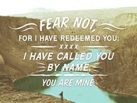 Isaiah 43 1 3