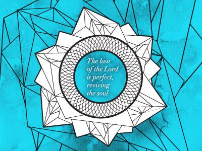 Psalm 19 7 8 dribbble