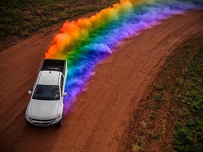 Pick Up Pride social media design automotive pick up truck cheyenne cars lgbt gay pride day pride
