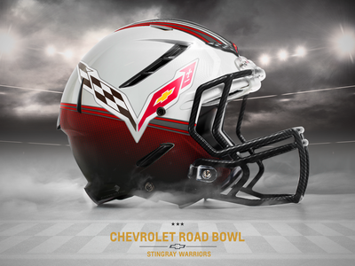Corvette Helmet Super Bowl