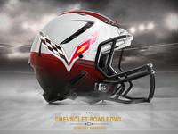 Corvette Helmet Super Bowl