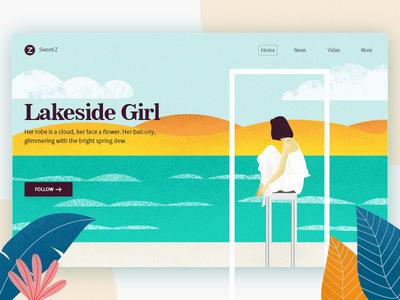 Lakeside girl