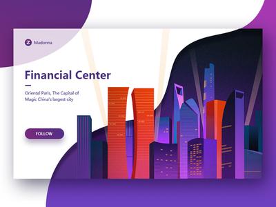Financial Center illustration