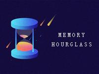 Memory Hourglass Illustration